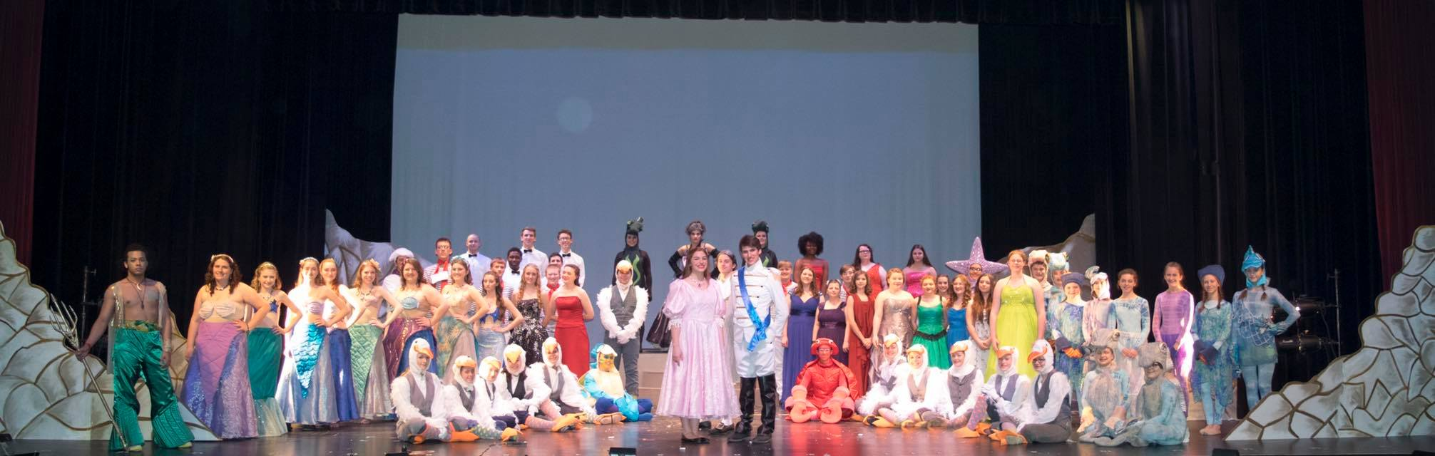 Cast of The Little Mermaid